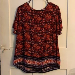 Old Navy Patterned Shirt